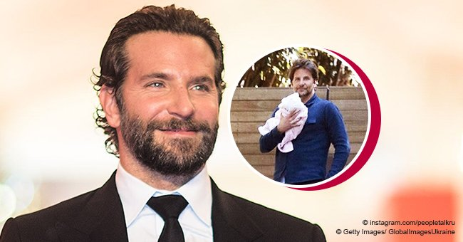 Bradley Cooper Spotted with a Newborn Baby in His Arms