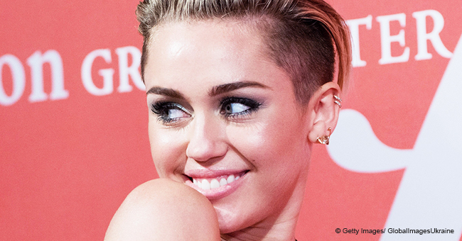 Miley Cyrus Is 'Ready to Party' as She Sunbathes without Clothes in a Photo from Malibu