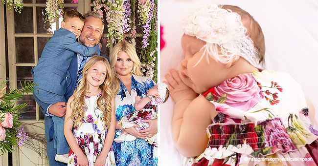 Jessica Simpson Shares Youngest Daughter's Easter Photos and It's Cuteness Overload