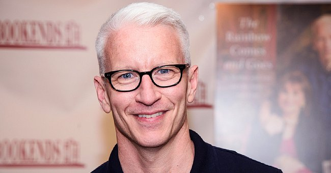 Anderson Cooper's Baby Son Wyatt Looks like His Dad's Mini-Me in a New Photo