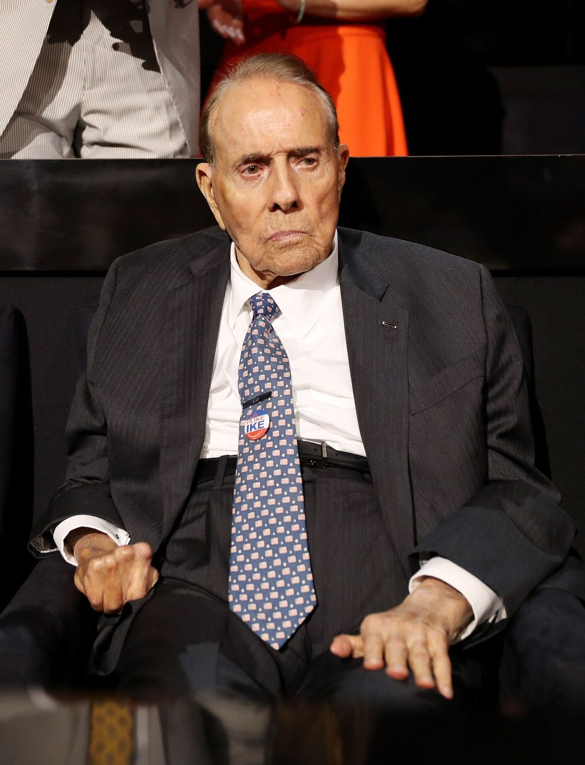 Sen. Bob Dole at the first day of the Republican National Convention on July 18, 2016 | Getty Images