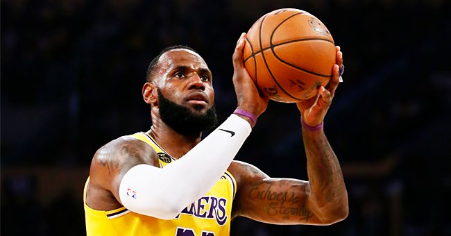 LeBron James Received Negative Comments about Son Bronny after Sharing a Photo of His Kids