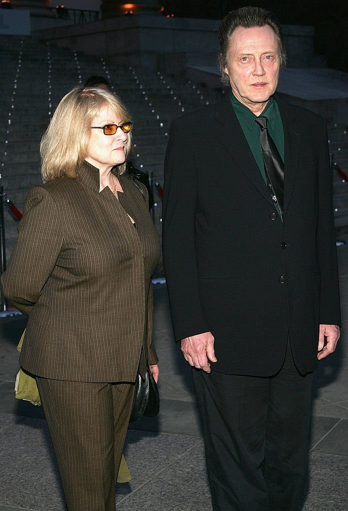 Christopher Walken and his wife arrive at the Vanity Fair party for the Tribeca Film Festival  | Getty Images