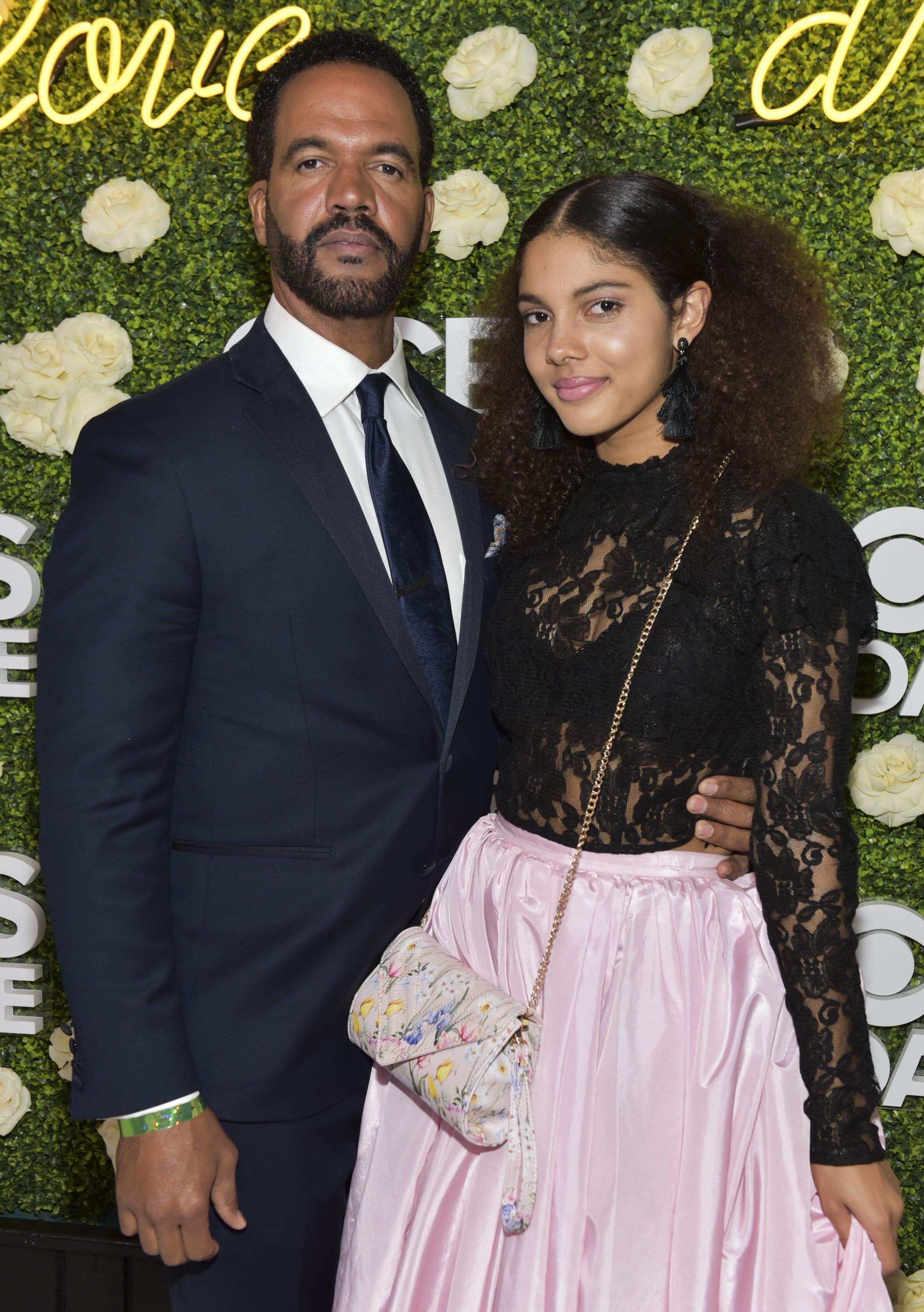 Kristoff St. John and daughter Paris St. John attending the CBS Daytime Emmy After Party at Pasadena Convention Center on April 29, 2018. | Source: Getty Images