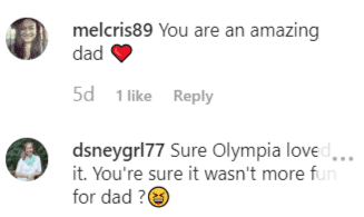 Fan comments on Alexis Ohanian's Instagram post | Instagram: @alexisohanian