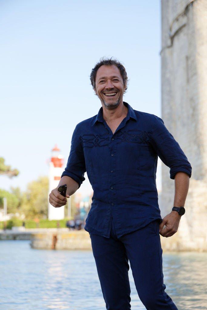 Le comédien Bruno Debrandt à la Rochelle le 12 septembre 2018. l Source : Getty Images