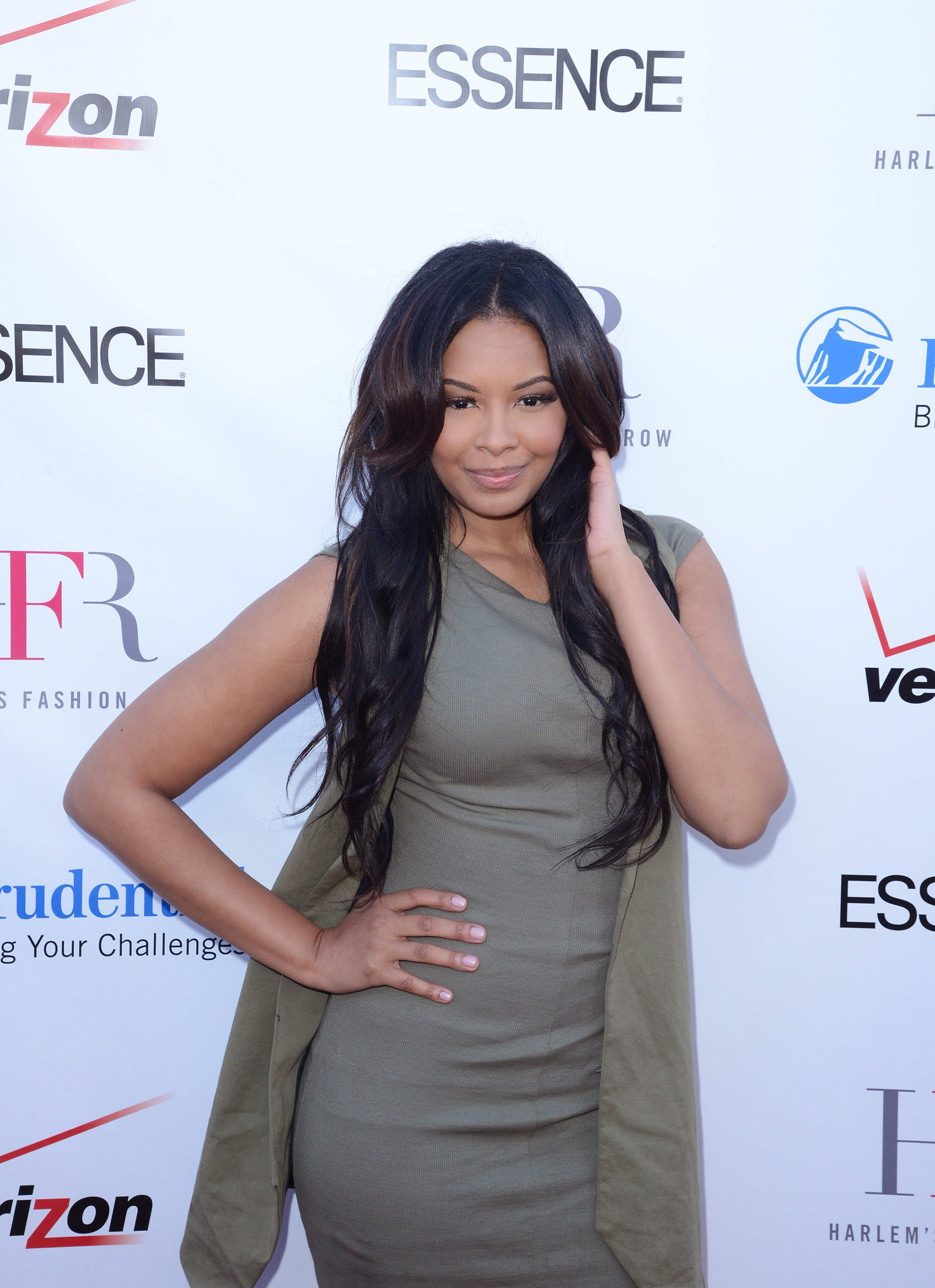 Vanessa Simmons attends Harlem's Fashion Row Style Beat in LA on February 6, 2015 in Los Angeles, California. | Source: Getty Images
