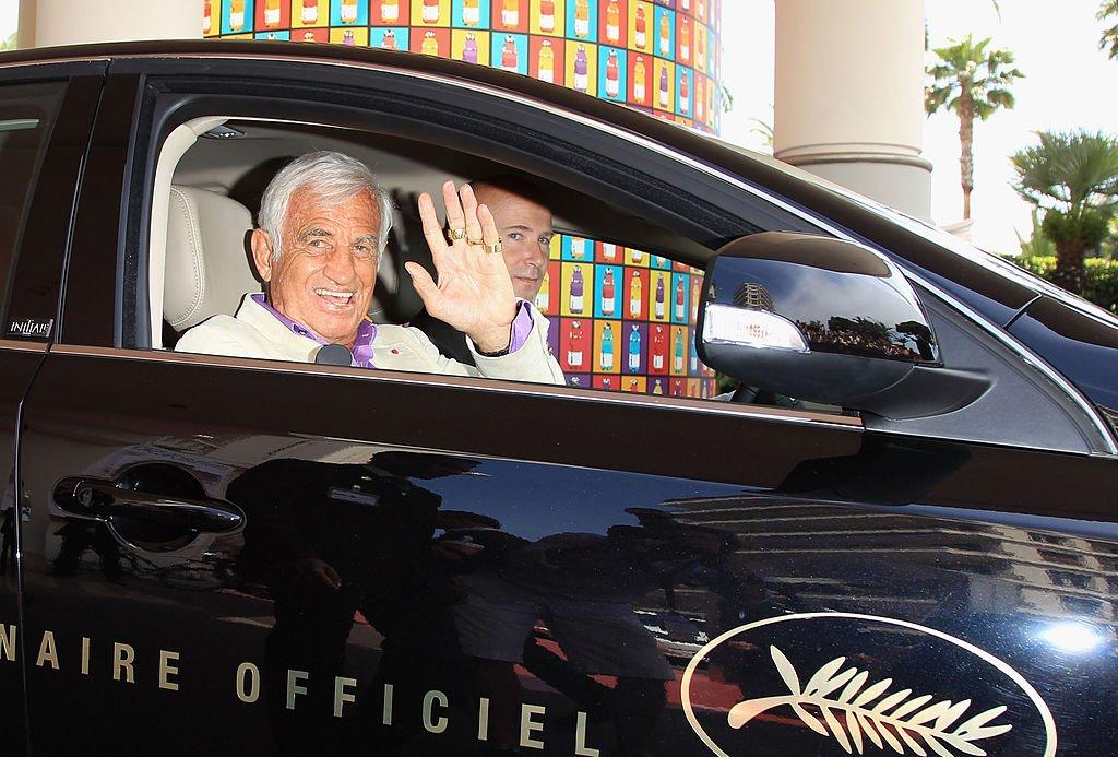 Jean Paul Belmondo avistado en el Hotel Martinez el 18 de mayo de 2011 en Cannes, Francia.   Foto: Getty Images