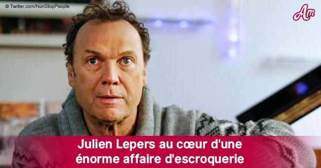Trahi par un proche, Julien Lepers est impliqué dans une escroquerie criminelle