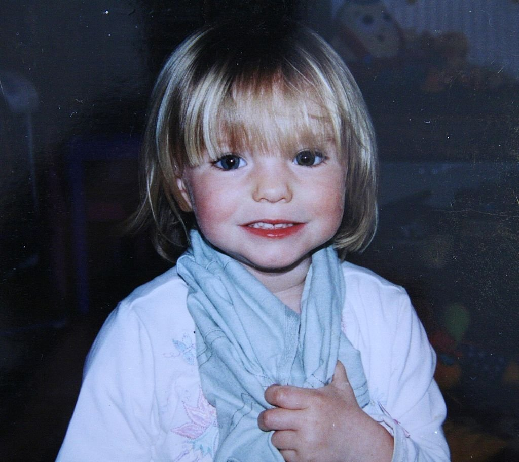 Missing Madeleine McCann who disappeared from their holiday apartment in Praia da Luz, Portugal, on May 3, 2007 | Photo: Getty Images