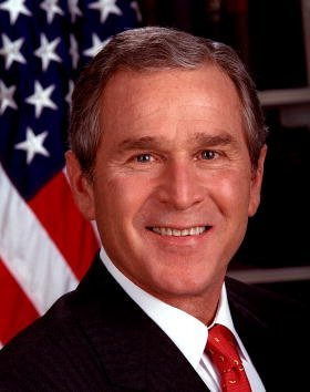 George W. Bush at the White House in Washington, DC. | Photo: Getty Images