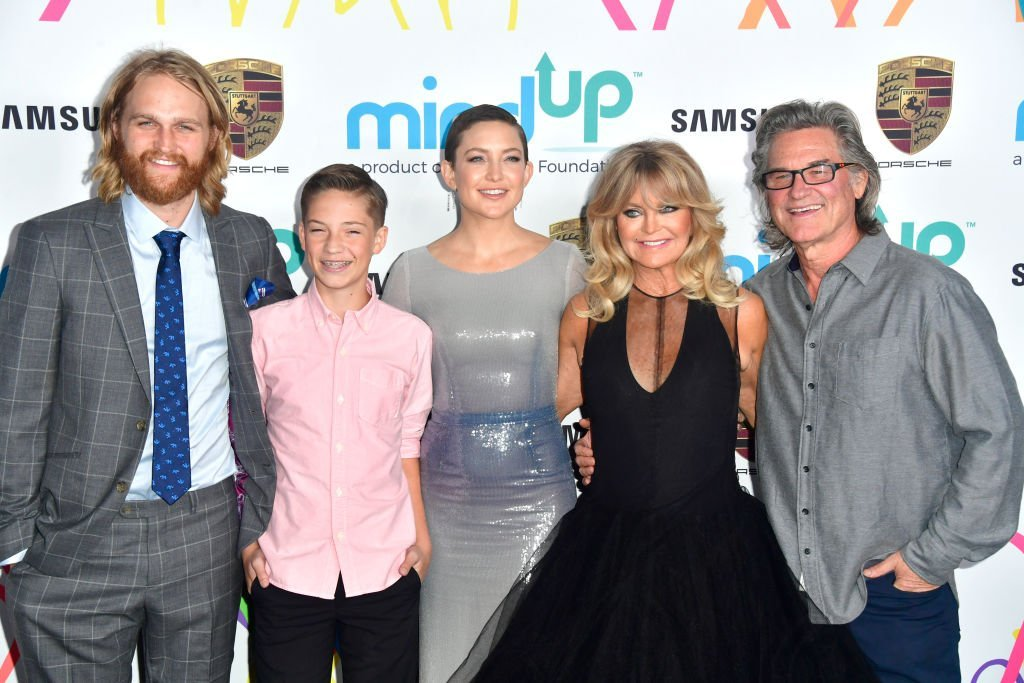 Wyatt Russell, Ryder Robinson, Kate Hudson, Goldie Hawn and Kurt Russell , attends Goldie's Love In For Kids in Beverly Hills | Photo: Getty Images