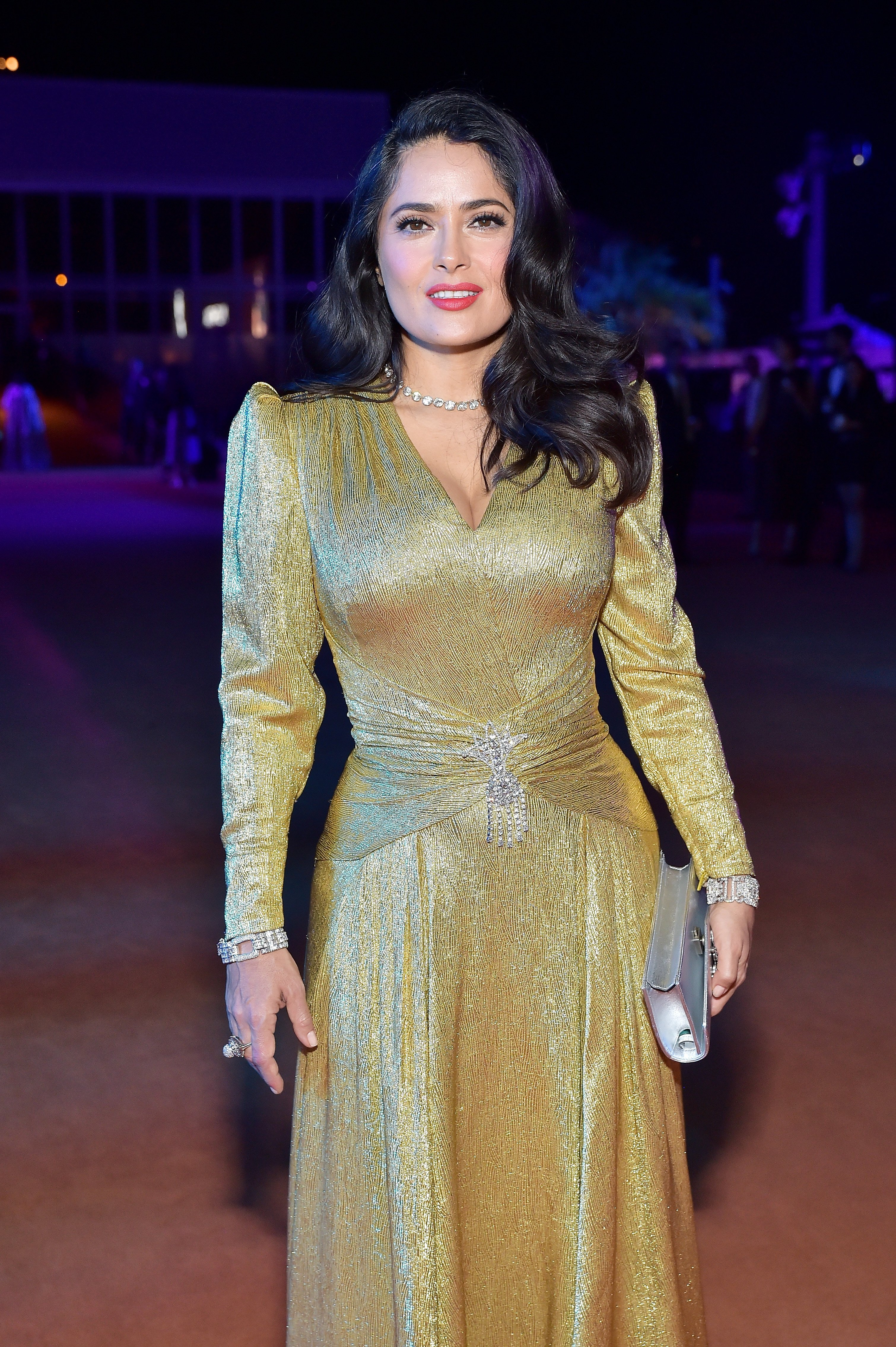 Salma Hayek attends the 2018 LACMA Art and Film Gala | Photo: Getty Images