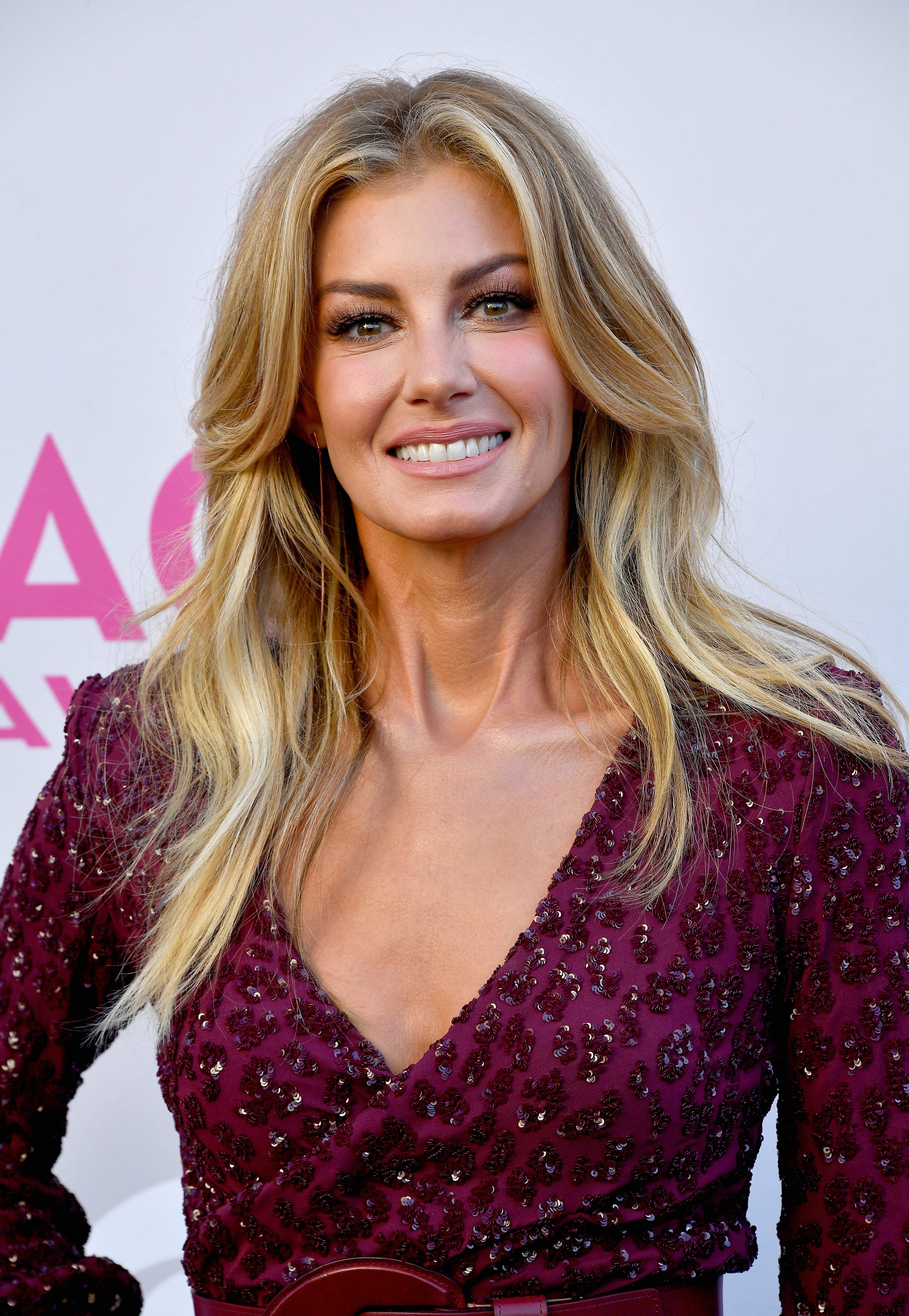 Faith Hill attends the 52nd Academy Of Country Music Awards on April 2, 2017, in Las Vegas, Nevada.   Source: Getty Images.