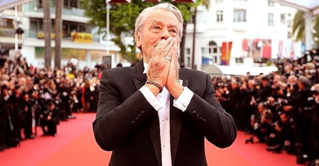 L'apparition d'Alain Delon sur le tapis rouge à Cannes qui pourrait dévaster ses deux fils