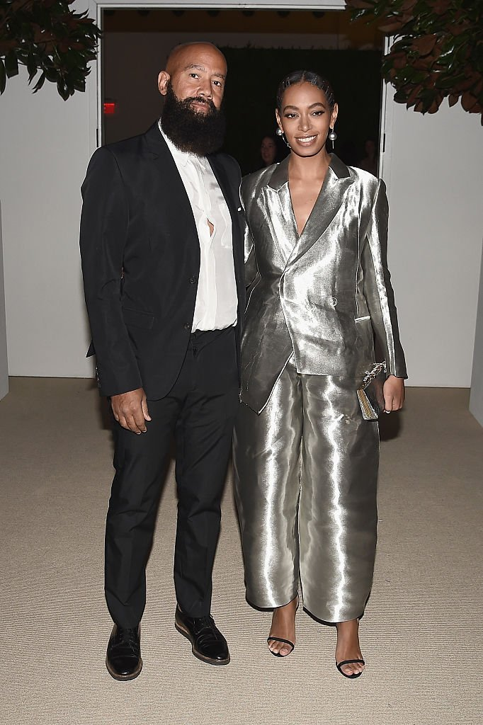 Solange Knowles & Alan Ferguson at the 13th Annual CFDA/Vogue Fashion Fund Awards on Nov. 7, 2016 in New York City | Photo: Getty Images