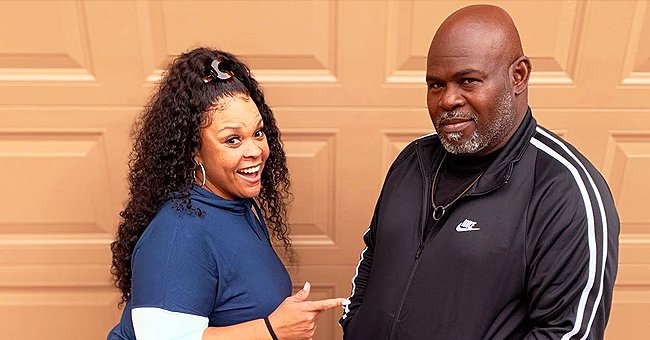 Tamela Mann of 'The Manns' Cuts Husband David's Hair and Beard in a New Video