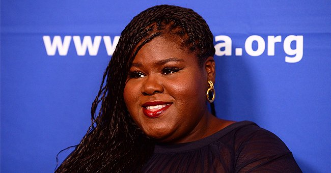Gabby Sidibe Stuns in a Lace Off-Shoulder Outfit forTeaser Photo from Her Upcoming Film 'Antebellum'