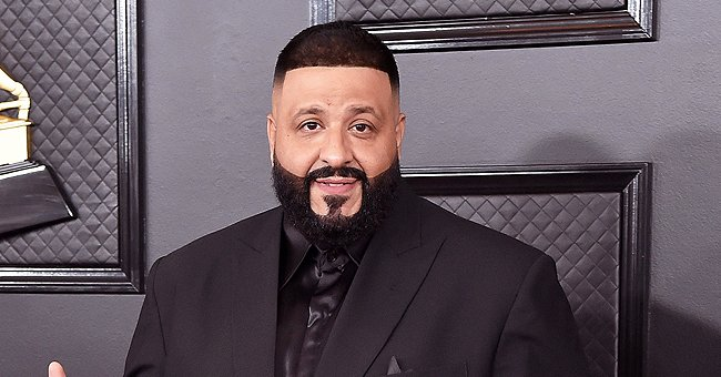 DJ Khaled Celebrates Son Aalam's 9-Month B-Day with Photo Showing His Cute Dimples as He Smiles