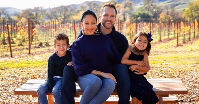 Tamera Mowry, Her Husband & Kids Glow with Joy as They Pose for This Year's Family Christmas Card