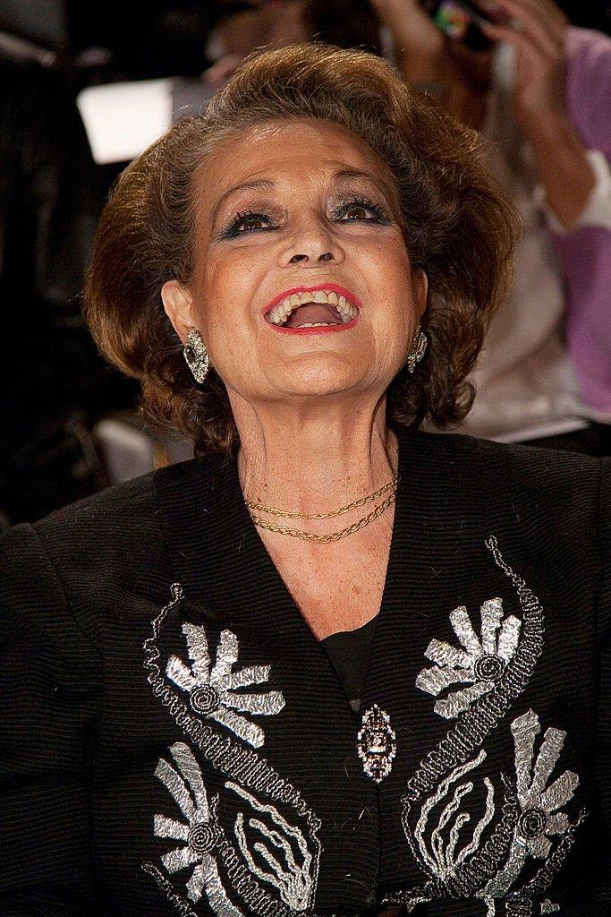 Carmen asistió al sexto día de Cibeles Fashion Week en Ifema.| Fuente: Getty Images