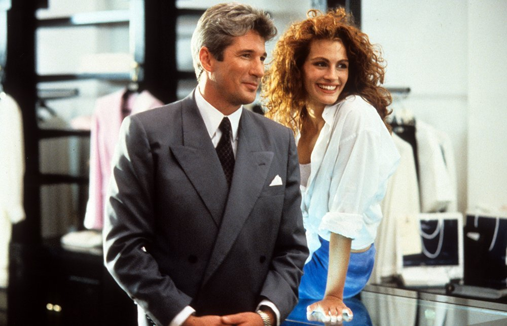 "Richard Gere and Julia Roberts in ""Pretty Woman."" I Image: Getty Images."