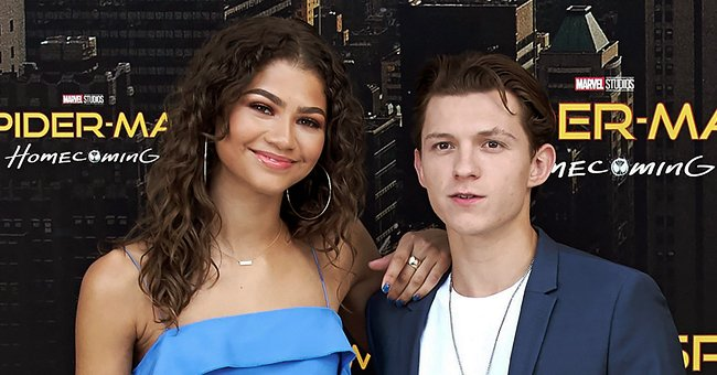 'Spider-Man' Stars Zendaya and Tom Holland Photographed Together at Friend's Wedding