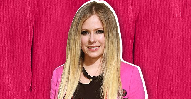 """Avril Lavigne pictured at the premiere of MGM's """"The Hustle,"""" in Hollywood, California in 2019.   Photo: Getty Images & Shutterstock"""