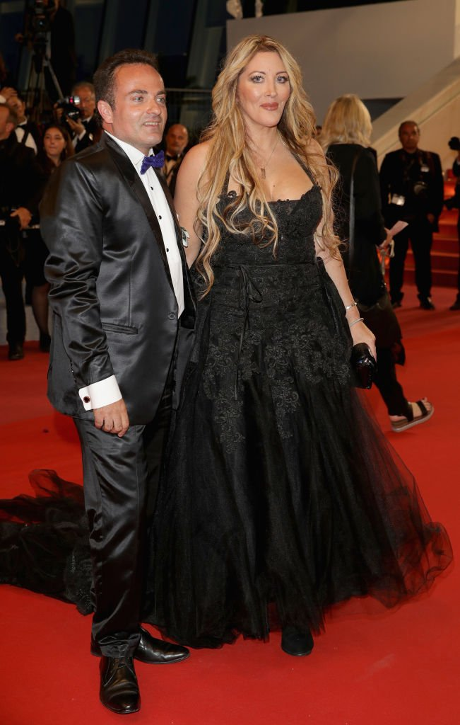 Loana et Laurent Amar le 12 mai 2018 à Cannes. l Source : Getty Images