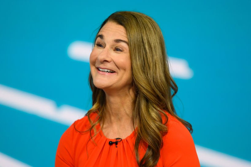 """Melinda Gates during an appearance on the """"Today"""" show Season 68 on, July 15, 2019 
