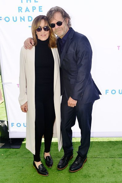 Felicity Huffman and William H. Macy at The Rape Foundation Annual Brunch on October 7, 2018 | Photo: Getty Images