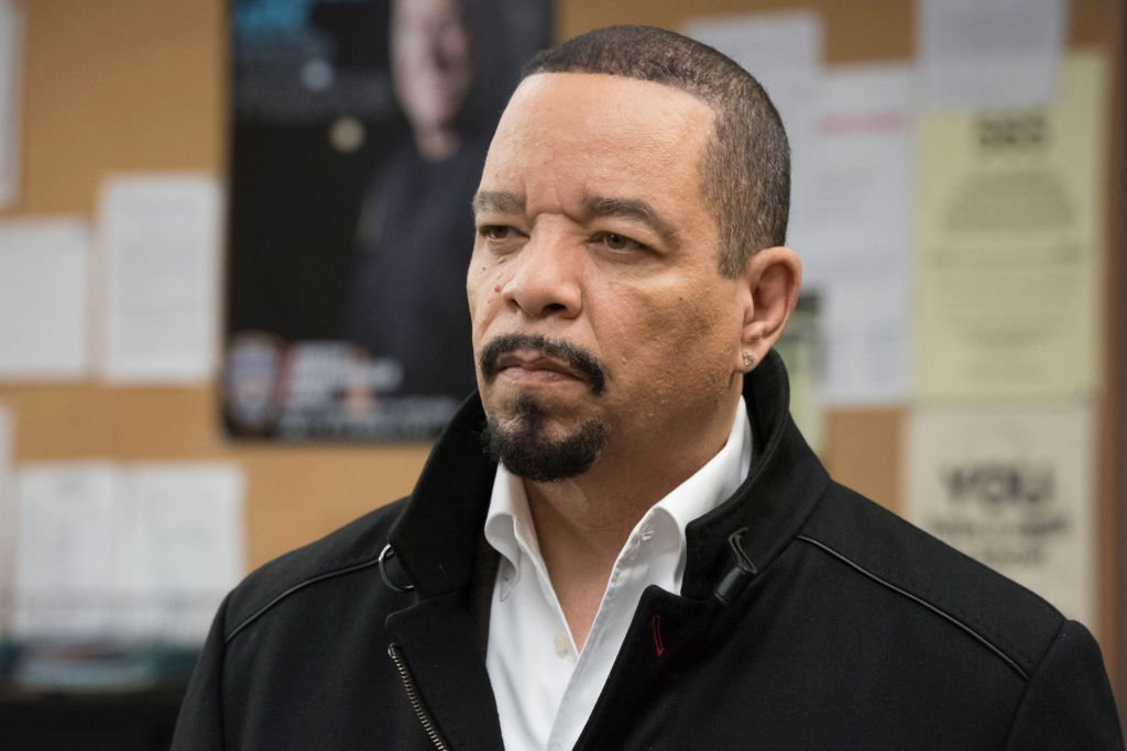 """Ice T as Detective Odafin """"Fin"""" Tutuola in Law & Order: Special Victims Unit. 
