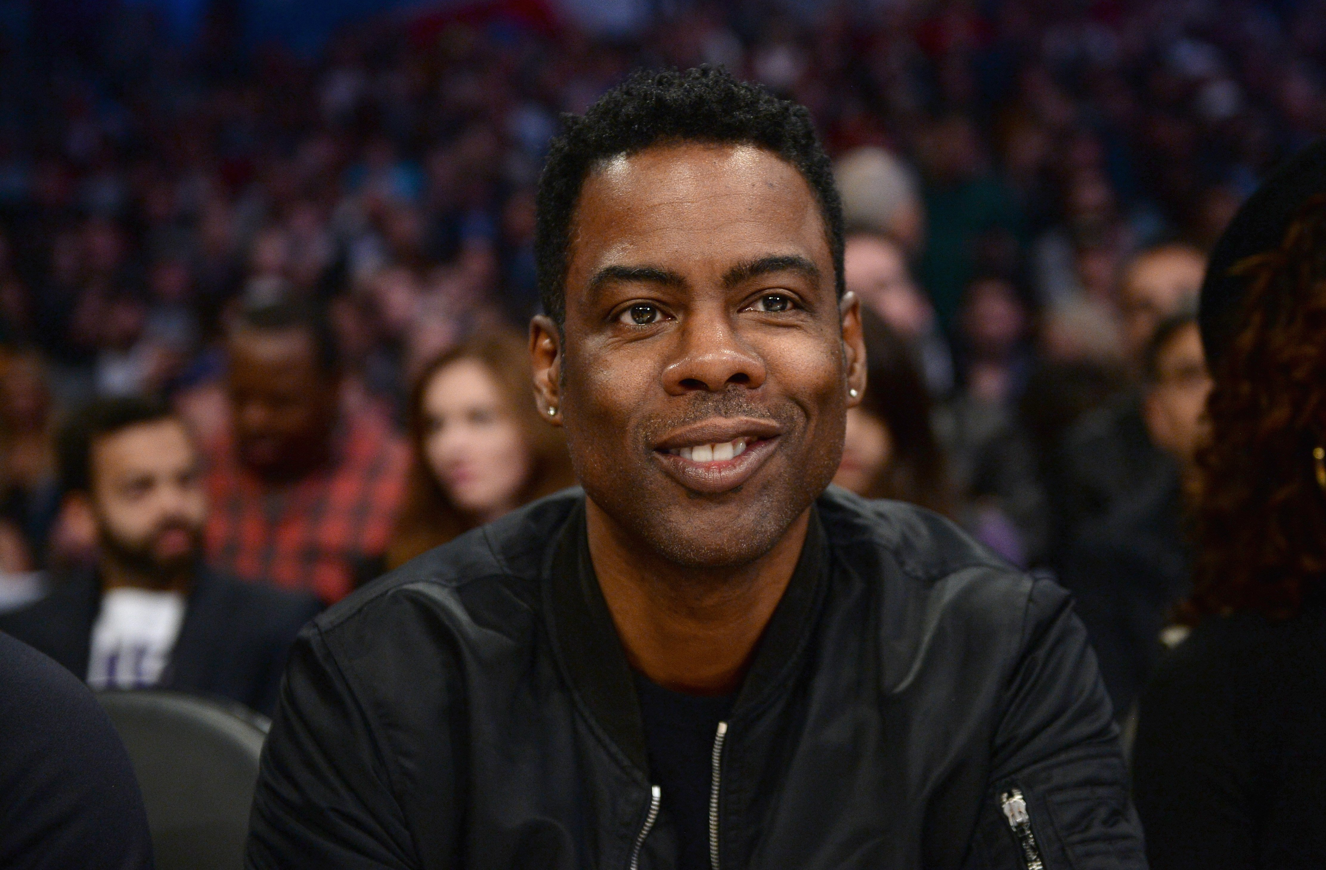 Chris Rock attending the NBA All-Star Game 2018 at Staples Center on February 18, 2018 in Los Angeles, California. | Source: Getty