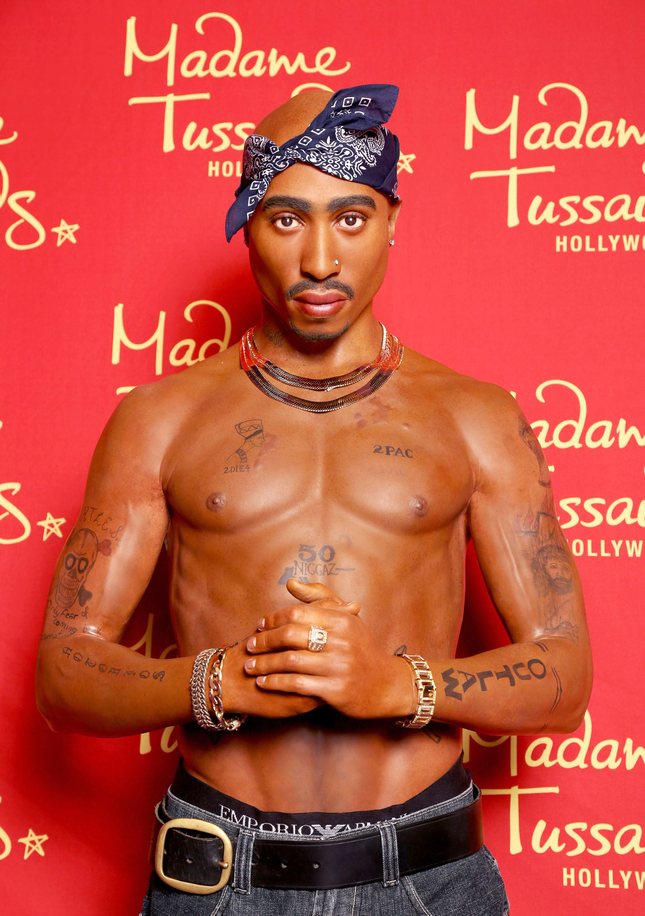 Madame Tussauds' Hommage an Tupac Amaru Shakur | Quelle: Getty Images