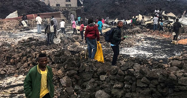 At Least 31 People Dead and 30,000 People Displaced after a Volcanic Eruption in Congo