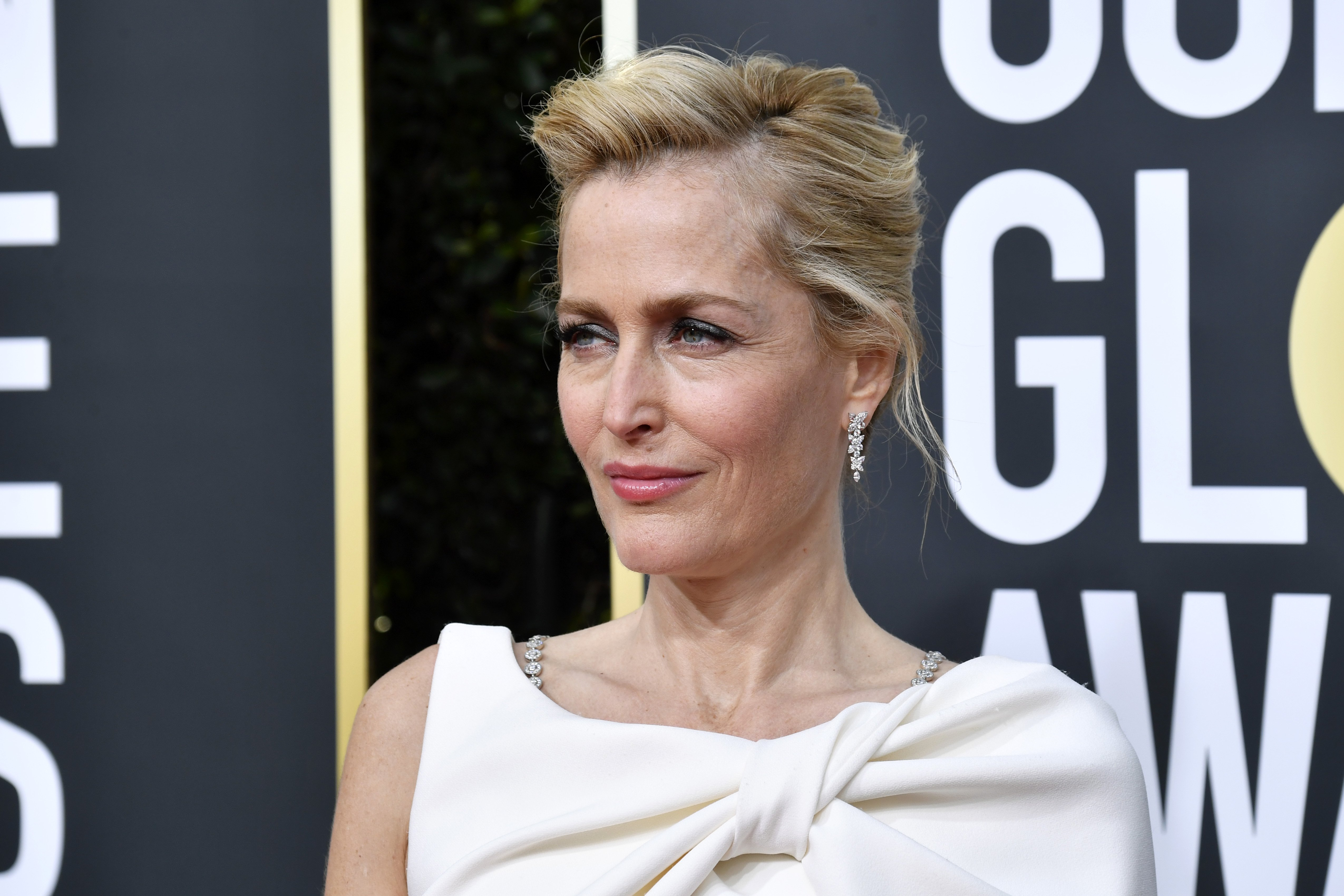Gillian Anderson attends the 77th Annual Golden Globe Awards at The Beverly Hilton Hotel on January 05, 2020 in Beverly Hills, California | Photo: Getty Images