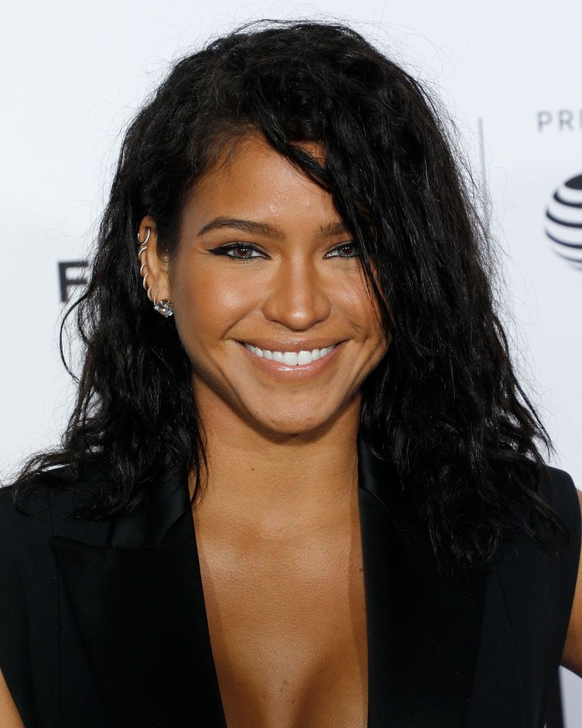 "Cassie Ventura at the ""Can't Stop, Won't Stop"" premiere in N.Y.