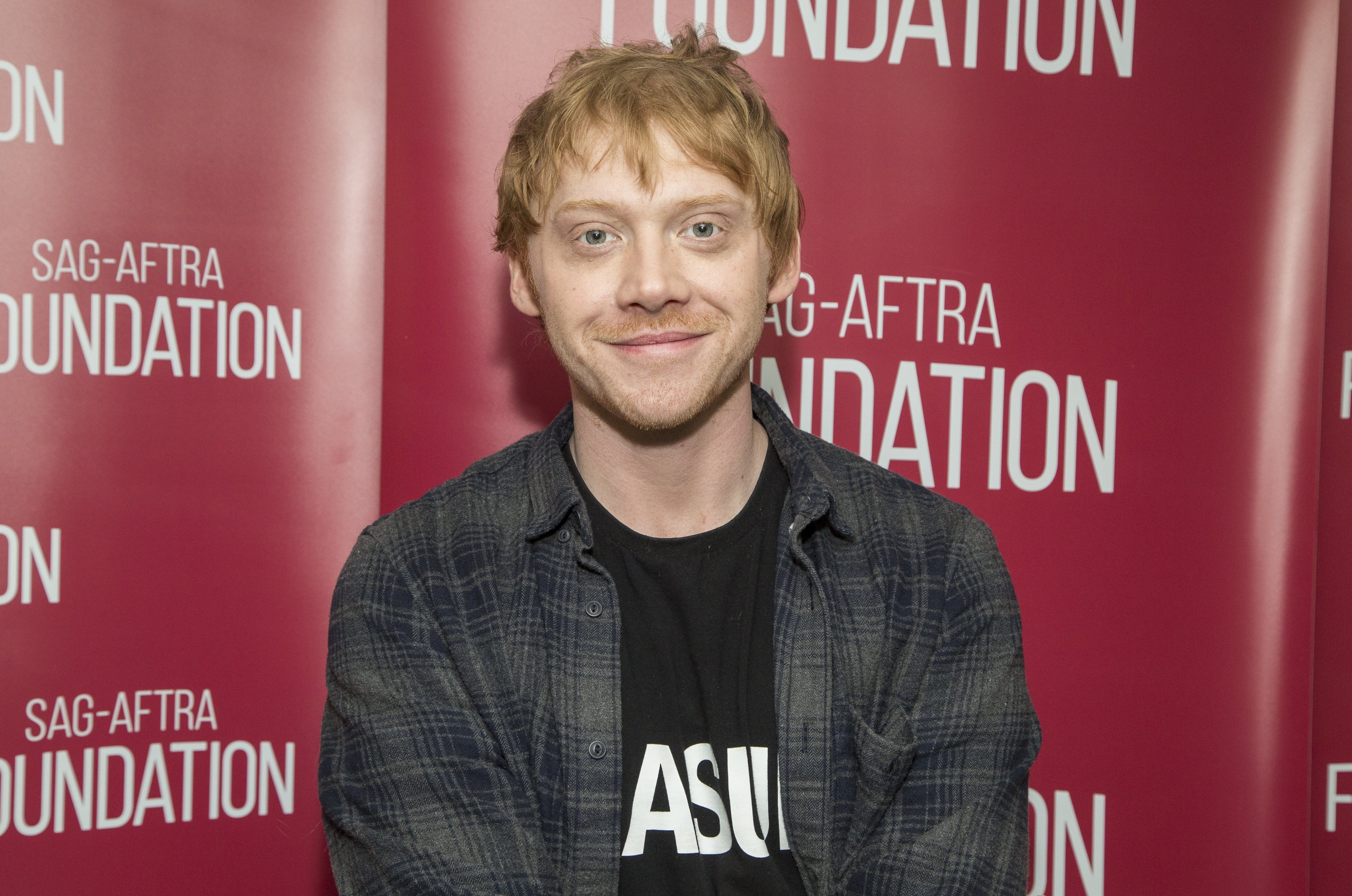 """Actor Rupert Grint was known for his role as """"Ron Weasley"""" in the iconic movie, """"Harry Potter."""" 