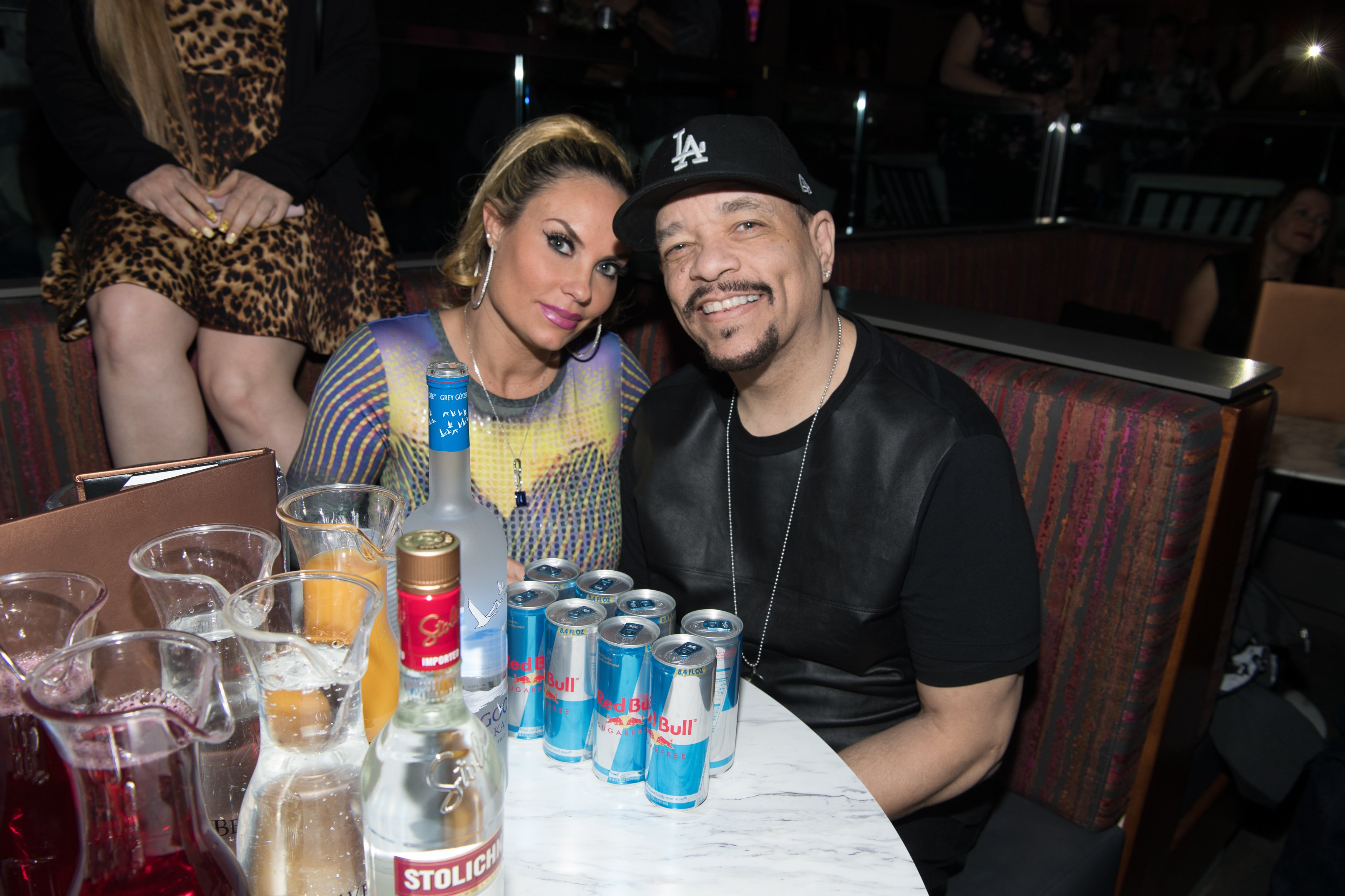 Ice-T and his wife Coco Austin at a party | Photo: Getty Images