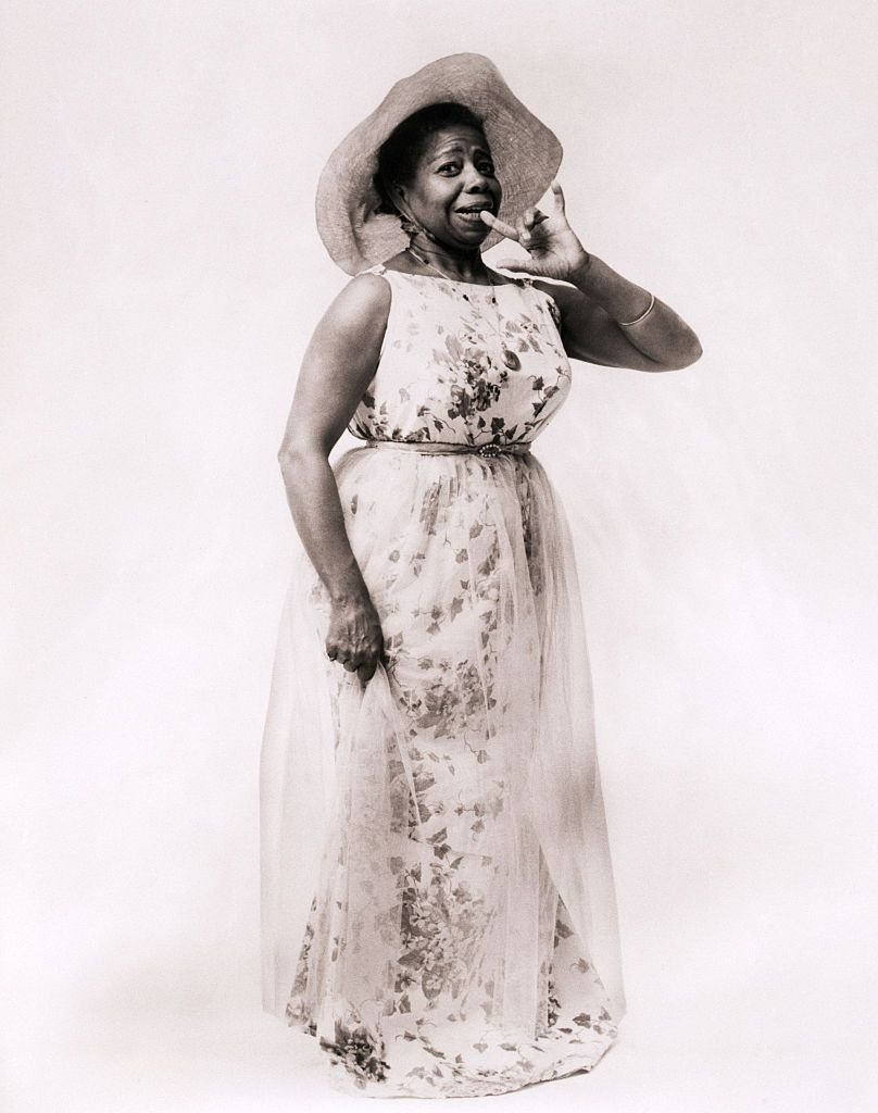 """Butterfly McQueen on her off-Broadway musical """"Curly McDimple"""" in 1968   Source: Getty Images"""