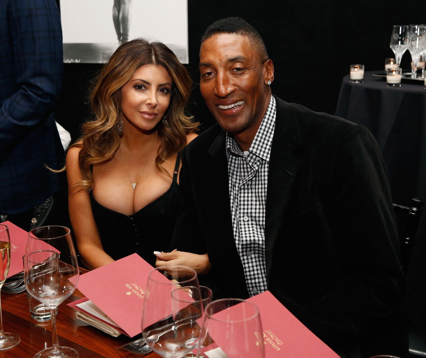 Larsa and Scottie Pippen at the Haute Living NY And Louis XIII Cognac Collectors Dinner In Honor Of NBA All Star Weekend in New York in 2015 | Source: Getty Images