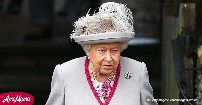La robe de Noël de la reine Elizabeth est sa tenue la plus raffinée de cette année