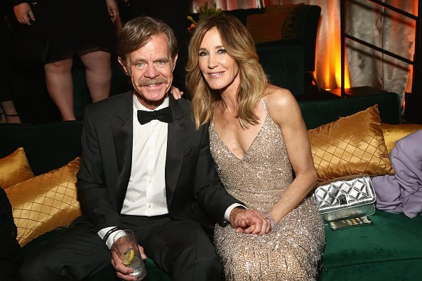 Felicity Huffman, Ehemann William Macy, Netflix 2019 Golden Globes After Party | Quelle: Getty Images