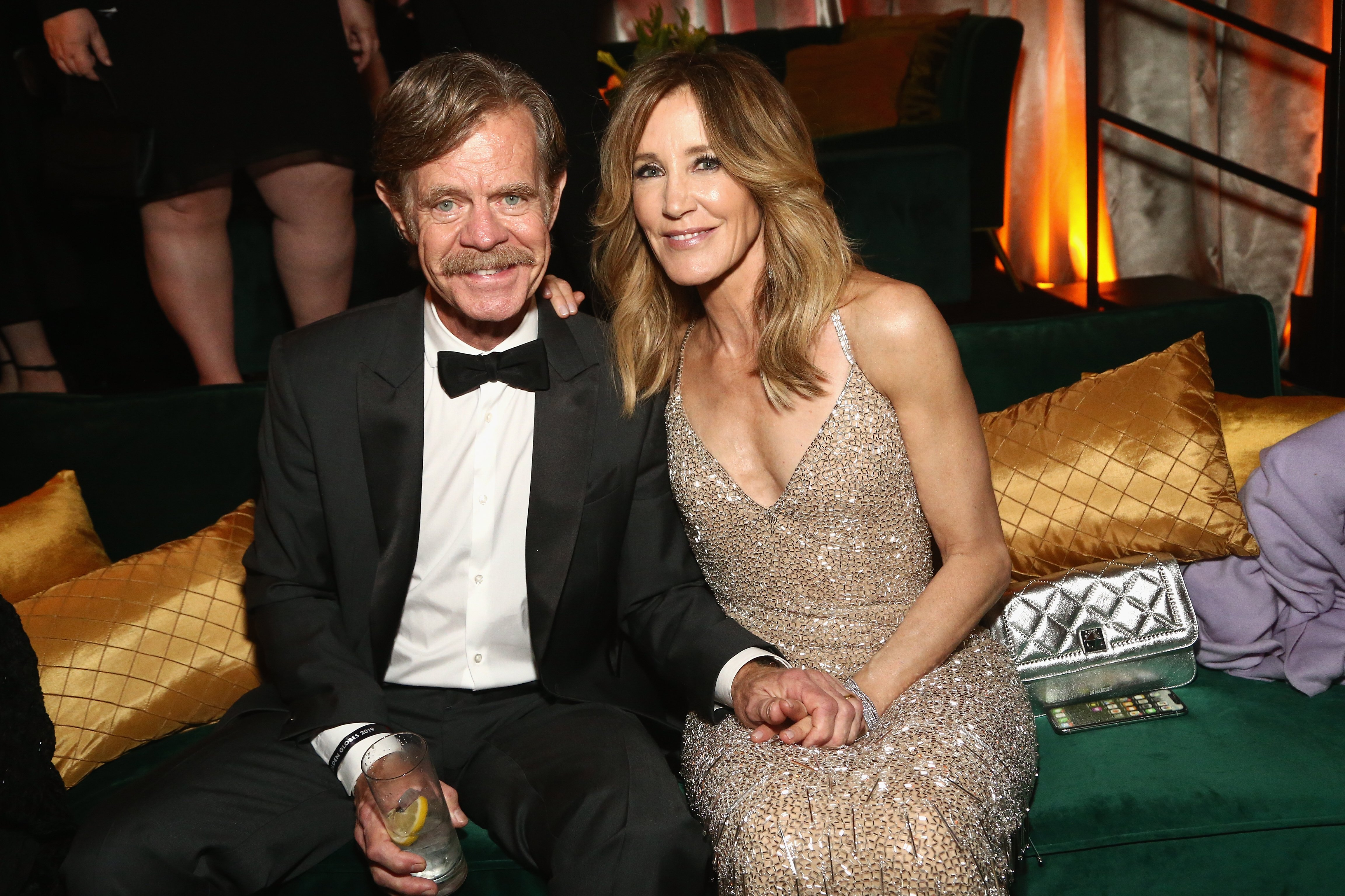 Felicity Huffman and William H. Macy at the Netflix 2019 Golden Globes After Party on January 6, 2019 | Photo: GettyImages