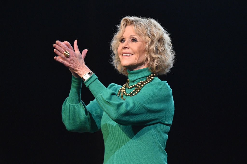 Jane Fonda attends the Jane Fonda Master Class at the 10th Film Festival Lumiere on October 19, 2018 in Lyon, France | Photo: Getty Images