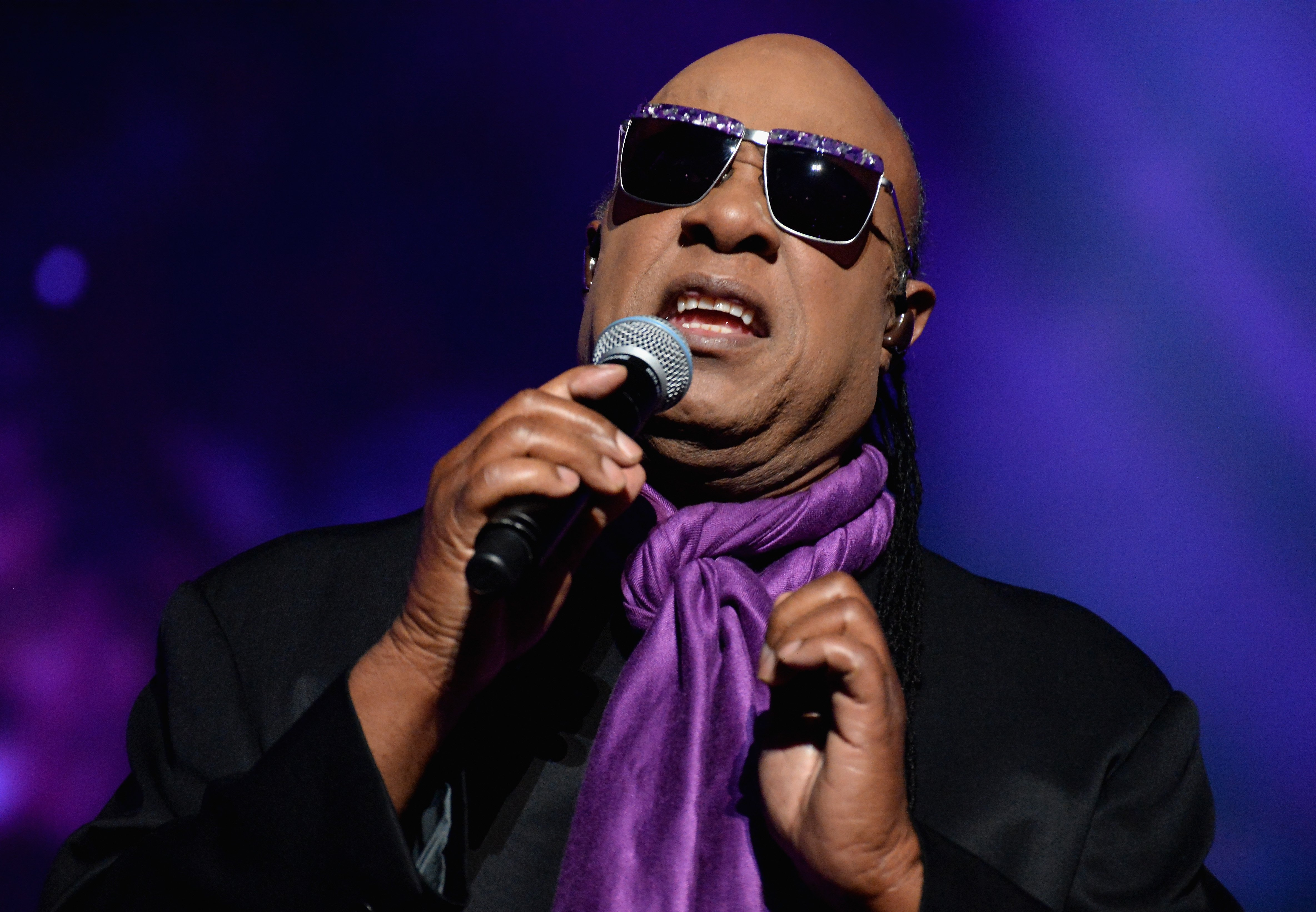 Stevie Wonder performs at the 2016 Billboard Music Awards at T-Mobile Arena on May 22, 2016 in Las Vegas, Nevada.   Source: Getty Images
