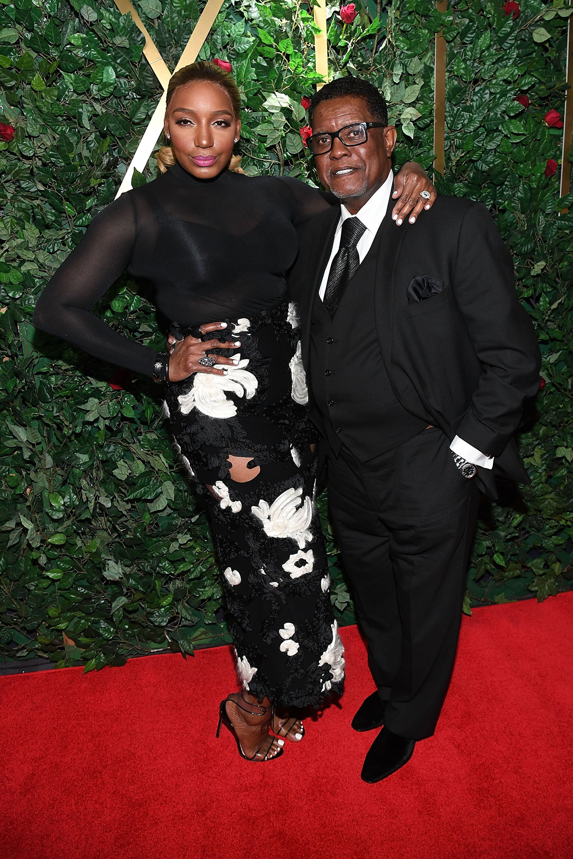 NeNe Leakes and Greg Leakes at the Celebration For A Cure in January 2017 in Atlanta/ Source: Getty Images