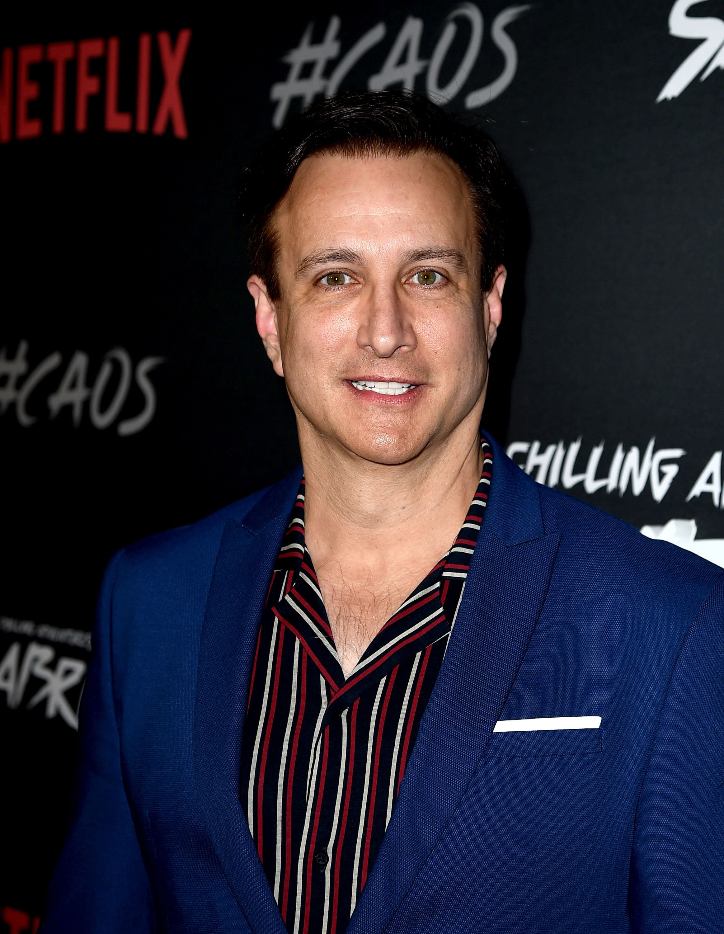 """Bronson Pinchot at the premiere of Netflix's """"Chilling Adventures Of Sabrina"""" at the Hollywood Athletic Club on October 19, 2018 in Los Angeles, California 