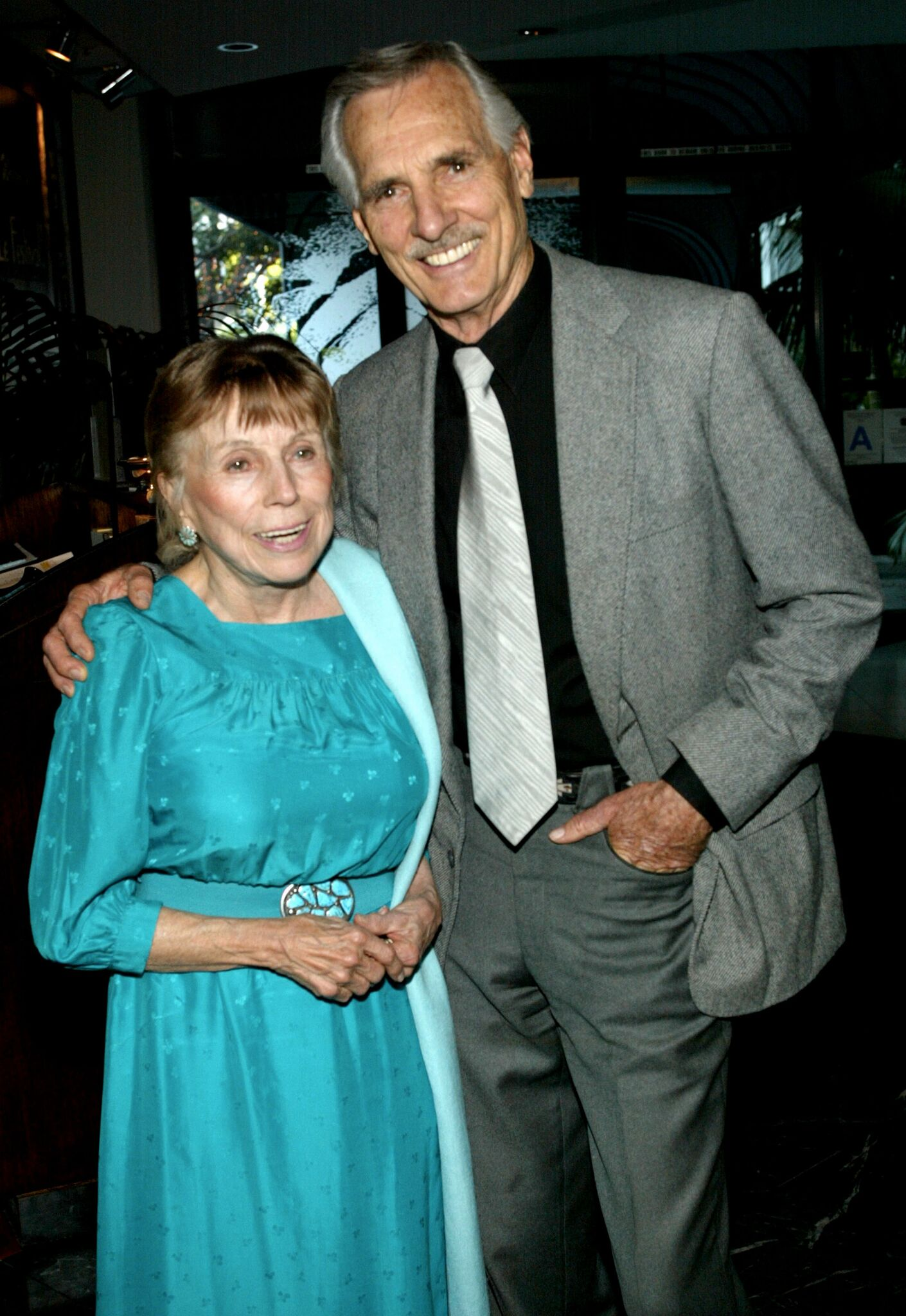Dennis Weaver and his wife Gerry attend the 44th Annual Los Angeles Press Club Southern California Journalism Awards  | Getty Images / Global Images Ukraine