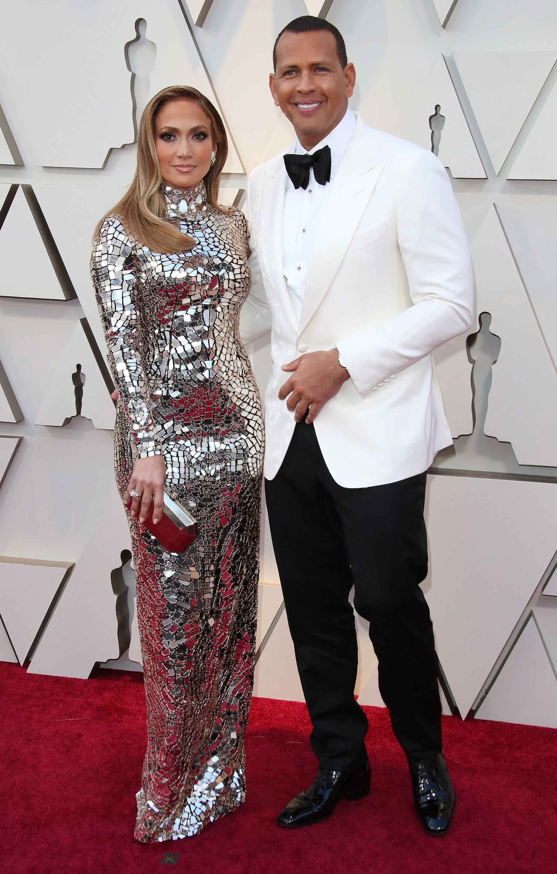 Alex Rodriguez and Jennifer Lopez at the 91st Annual Academy Awards on February 24, 2019 | Photo: Getty Images